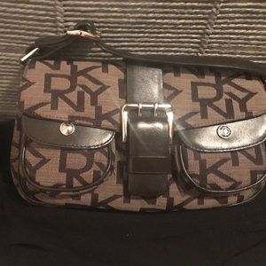 Dkny monogram mini bag